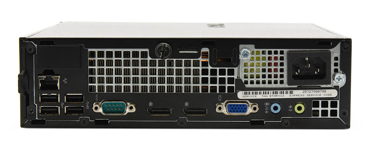 Dell OptiPlex 7010 Computer Interface View