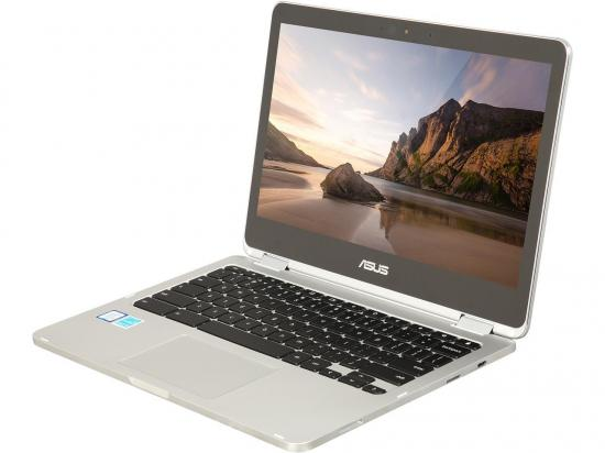 "Asus C302CA-DHM4 12.5"" Chromebook Flip Intel Core m3 (6Y30) .9GHz 4GB DDR3 64GB Flash"