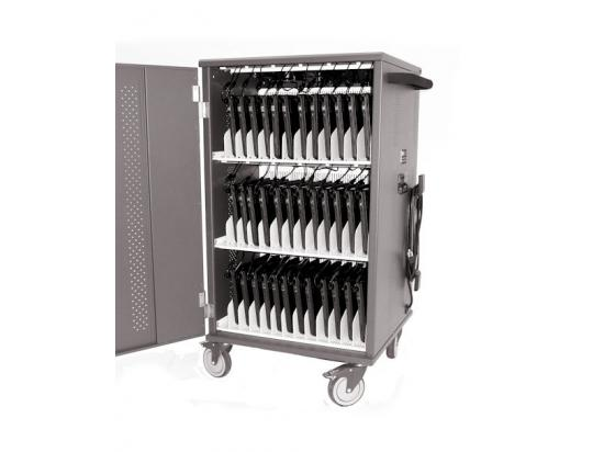 Datamation DS-UNIVAULT-36-PDC Charging Cart for 36 Chromebook/Tablet