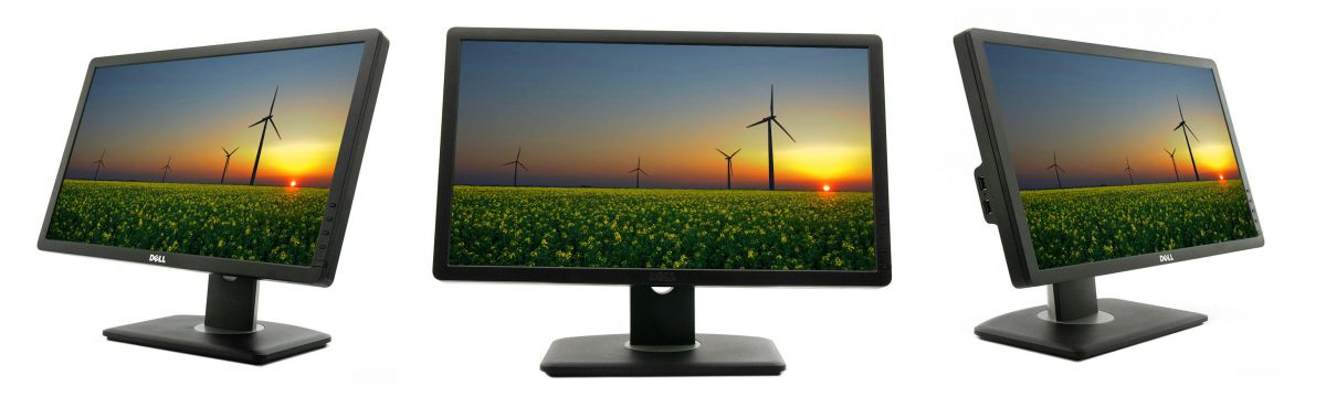 Dell P2012H Monitor 3D View