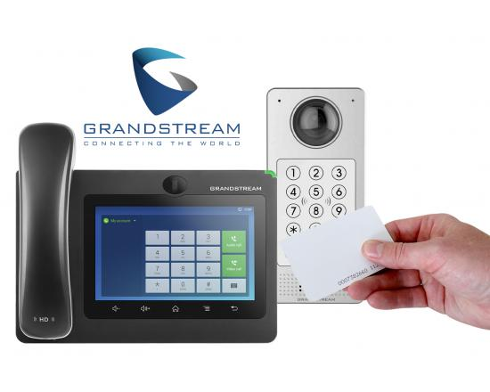Grandstream GDS3710 IP Video Door System Access Kit w/HD Phone