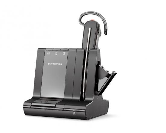 Plantronics Savi 8245-M Office DECT Convertible Wireless Monaural Headset - Microsoft