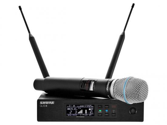 Shure QLXD24 Wireless Microphone System w/ BETA87A Cartridge - New