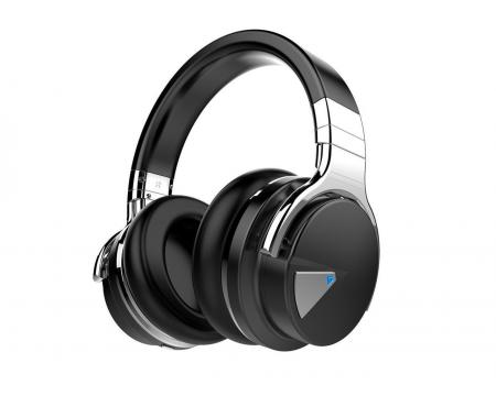 Cowin E7 Bluetooth Stereo Headphones - Black