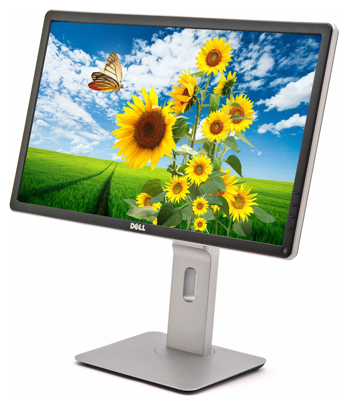 """Dell 22/"""" P2214Hb Widescreen LCD Monitor w//Stand /& Power Cord Tested"""