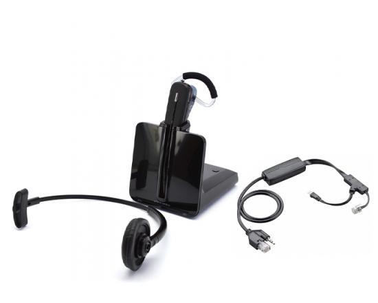 Plantronics CS540 DECT Headset w/Polycom EHS Cable