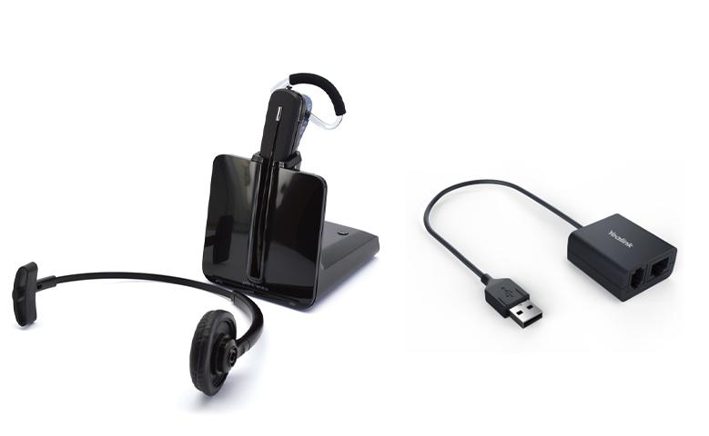Plantronics Cs540 Headset For Yealink Phone