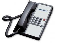 Teledex Diamond A DIA653091 Black Analog Phone
