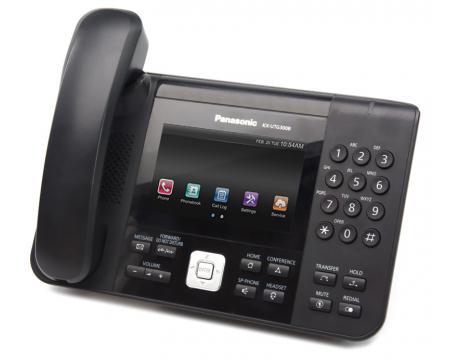 Panasonic KX-UTG300B VoIP Touchscreen Phone