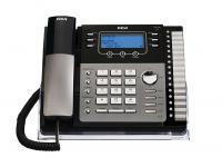 RCA 25250RE1-A Black 2-Line Speakerphone - Grade A