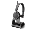 Plantronics Voyager 4210 Office Mono Bluetooth Headset w/ 1-Way Base - New