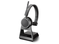 Plantronics Voyager 4210 Office Mono Bluetooth Headset w/ 1-Way Base - New