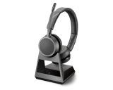 Plantronics Voyager 4220 Office Stereo Bluetooth Headset w/ 1-Way Base - New