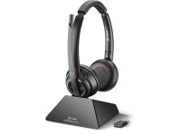 Plantronics Savi 8220 UC USB-A DECT Wireless Stereo Headset - Standard - New