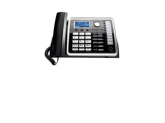 RCA 25260 Black/Silver 2-Line Analog Speakerphone - New