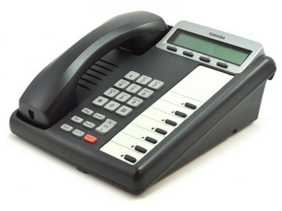 Toshiba Strata DKT3207-SD 7-Button Charcoal Display Phone