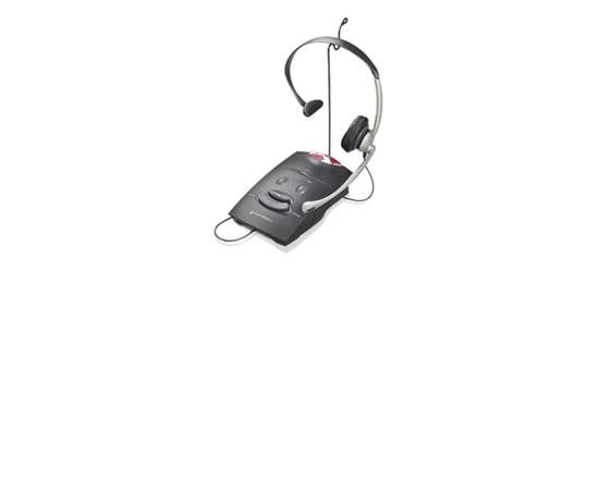 Plantronics S11 Over-the-Head Headset w/ Amplifier - Grade A