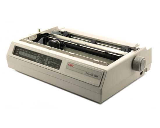 Okidata Pacemark 3410 Parallel Serial 9-Pin Dot Matrix Impact Printer (61800801)