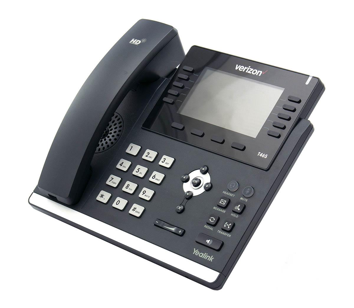 "YEALINK SIP-T46S ULTRA-ELEGANT GIGABIT IP PHONE 4.3/"" DISPLAY"