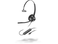 Plantronics EncorePro 310 USB-C Monaural Headset - New