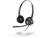 Plantronics EncorePro 320 QD Quick Disconnect Binaural Headset - New