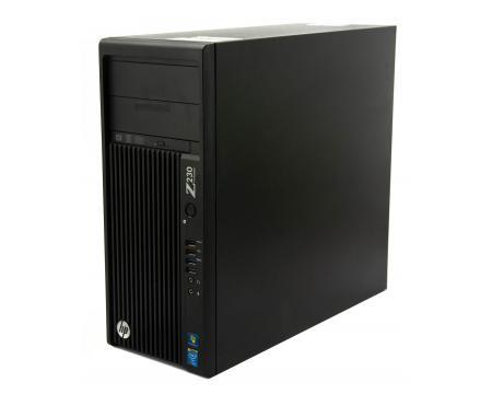 HP Z230 Workstation Tower Intel Core i5 (4570) 3.2GHz 4GB DDR3 250GB HDD  - Grade C