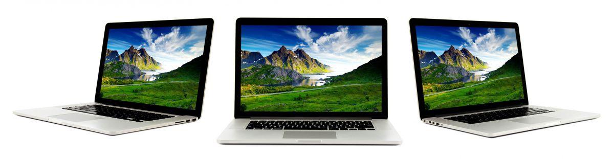 Apple A1398 MacBook Pro 3D Views