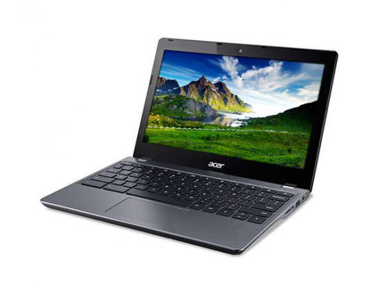 """Acer Chromebook 11 C740 11.6"""" Laptop 3205U 1.5 GHz 4GB DDR3 16GB SSD - Grade C"""