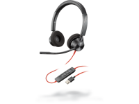 Plantronics Poly Blackwire 3320 USB-A Binaural Headset