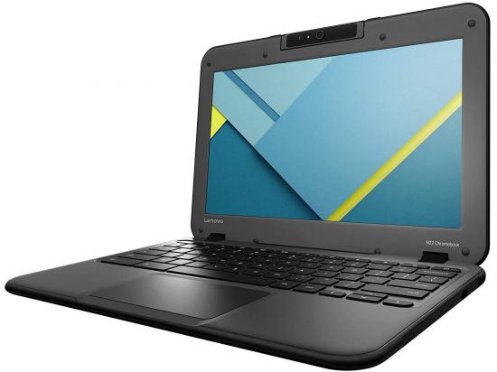 "Lenovo N22 Chromebook 11.6"" Laptop N3050 1.60GHz 2GB DDR3 16GB SSD - Grade C"