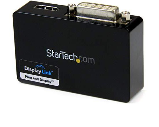 StarTech.com USB 3.0 Dual Head Graphics Adapter - HDMI and DVI-I - Grade A