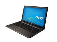 "MSI MS-16GD 15.6"" Laptop Intel Core i5 (4210M) 2.6GHz 4GB DDR3 320GB HDD - Grade A"