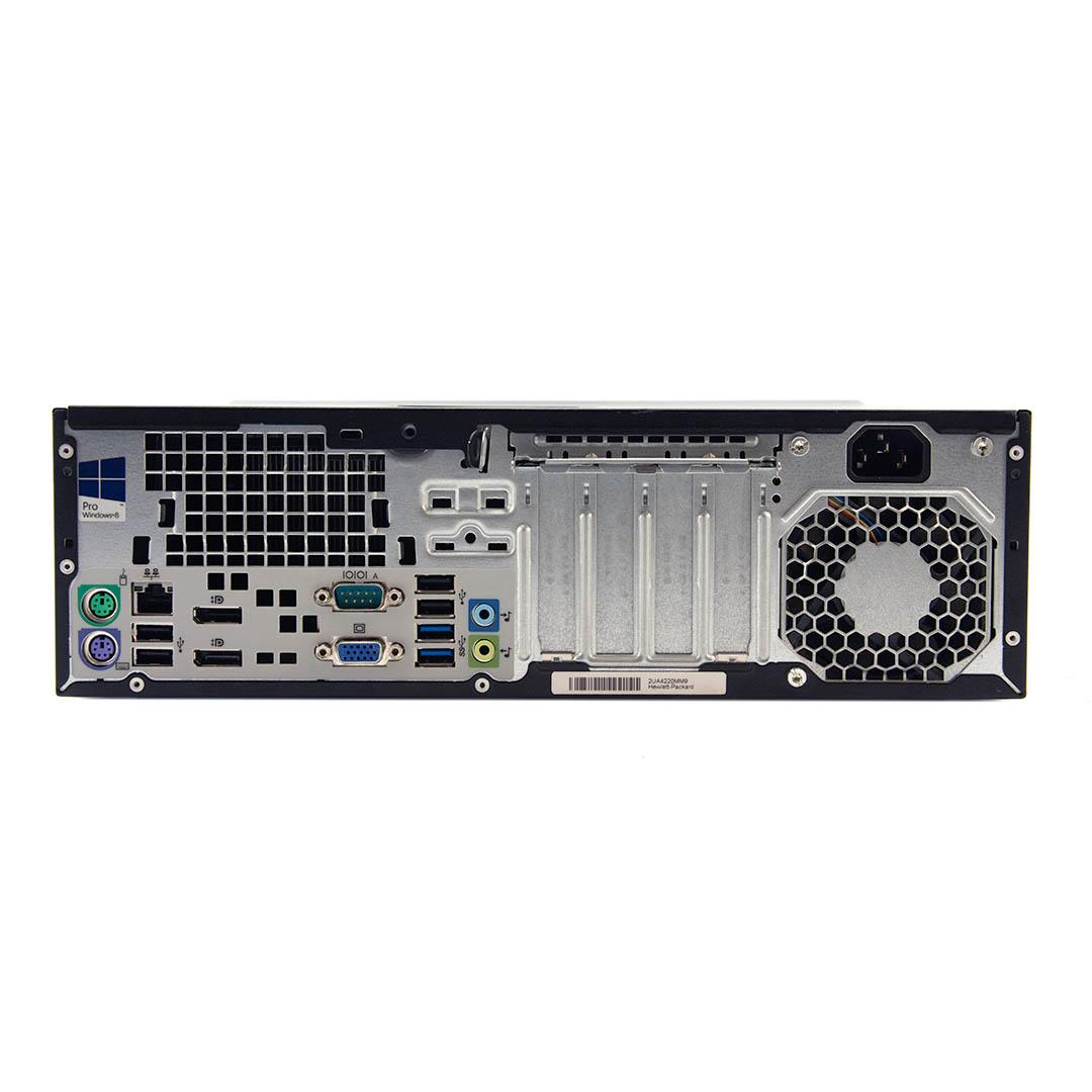 HP EliteDesk 800 G1 Computer Interface View