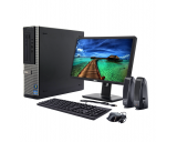 "Homeschool Bundle Dell OptiPlex 390 PC | 22"" LED Monitor 