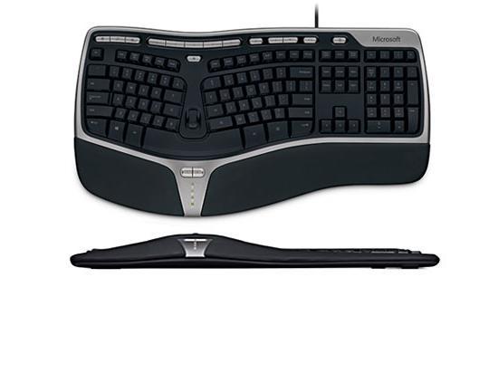 Microsoft 4000 v1.0 Wired Natural Ergonomic Keyboard