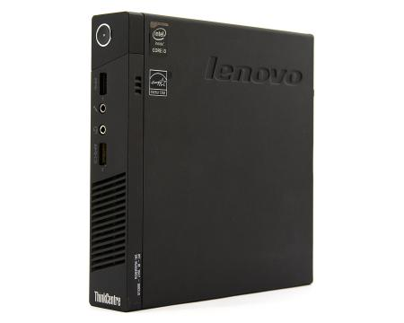 Lenovo ThinkCentre M73 Tiny Computer Intel Core i3 (4130T) 2.9GHz 4GB DDR3 250GB HDD