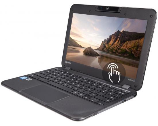 """Lenovo N22-20 11.6"""" Touchscreen Chromebook Intel Celeron (N3060) 1.60GHz 4GB DDR3 128GB SSD - Grade C"""