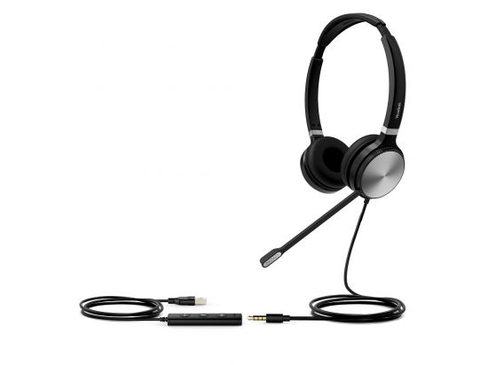 Yealink UH36 UC USB-A Dual Ear Wired Headset