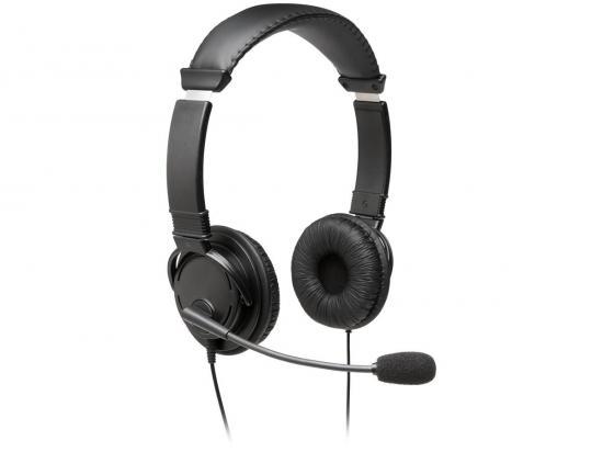 Kensington Hi-Fi 3.5mm Headphones w/NC Mic - Grade A