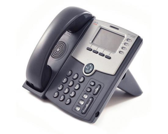 Cisco SPA504G Charcoal IP Display Speakerphone - Grade A