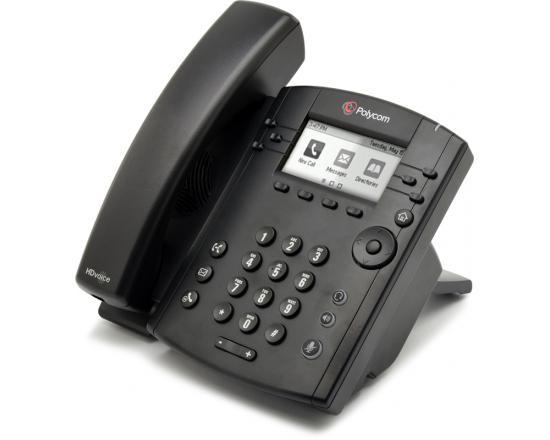 Polycom VVX 310 Gigabit IP Display Speakerphone (2200-46161-025) - Grade A