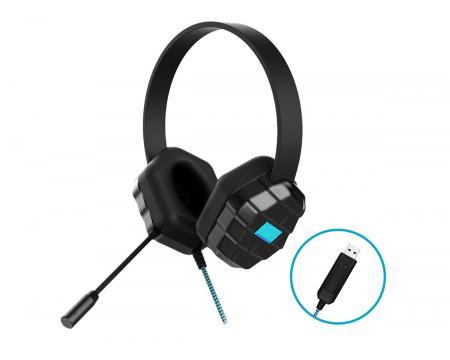 Gumdrop Droptech USB-A B2 Binaural Headset