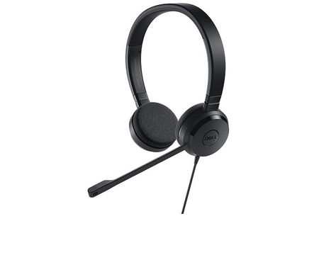 Dell UC150 USB Pro Stereo UC Headset - Microsoft Certified