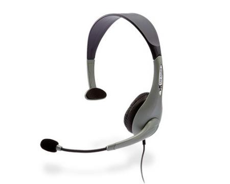 Cyber Acoustics AC-840 USB Mono Headset w/NC Mic