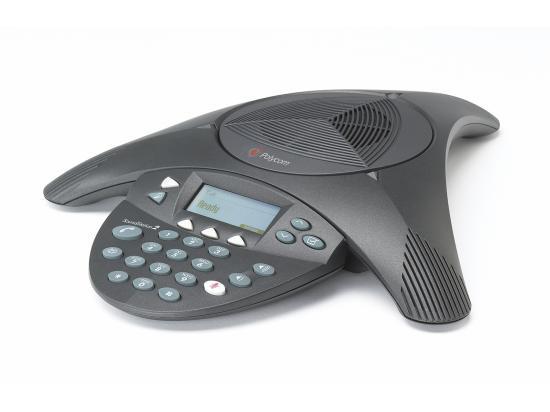 Polycom SoundStation 2 LCD Conference Phone (2200-16000-001)