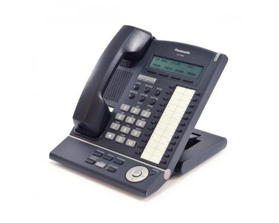 Panasonic KX-T7633-B 24 Button Digital Display Phone Charcoal - Refurbished