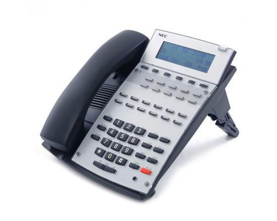 NEC Aspire IP1NA-12TXH 22-Button Black Display Phone (0890043) - Grade A