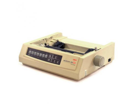 Okidata Microline 320 Turbo Parallel Dot Matrix Printer (62411601) - No Accessories - Grade A