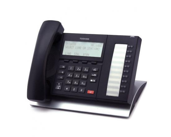 Toshiba DP5022C-SD Black 10-Button 4-Line Digital Display Phone