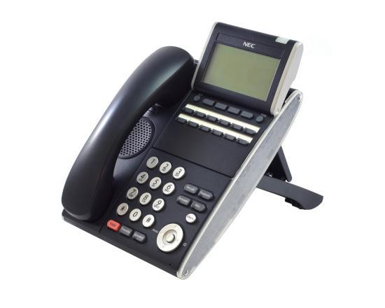 NEC DT300 DTL-12D-1 12 Button Display Phone Black (680002) - Grade B
